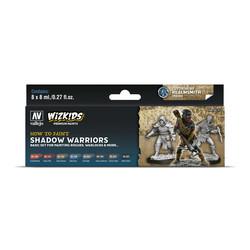 Wizkids set: Shadow warriors - 8 x 8ml - Vallejo - VAL-80253
