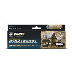 Wizkids set: Woodland creatures - 8 x 8ml - Vallejo - VAL-80254