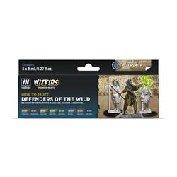 Wizkids set: Defenders of the Wild - 8 x 8ml - Vallejo - VAL-80255