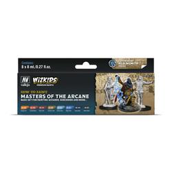 Wizkids set: Masters of the Arcane - 8 x 8ml - Vallejo - VAL-80257
