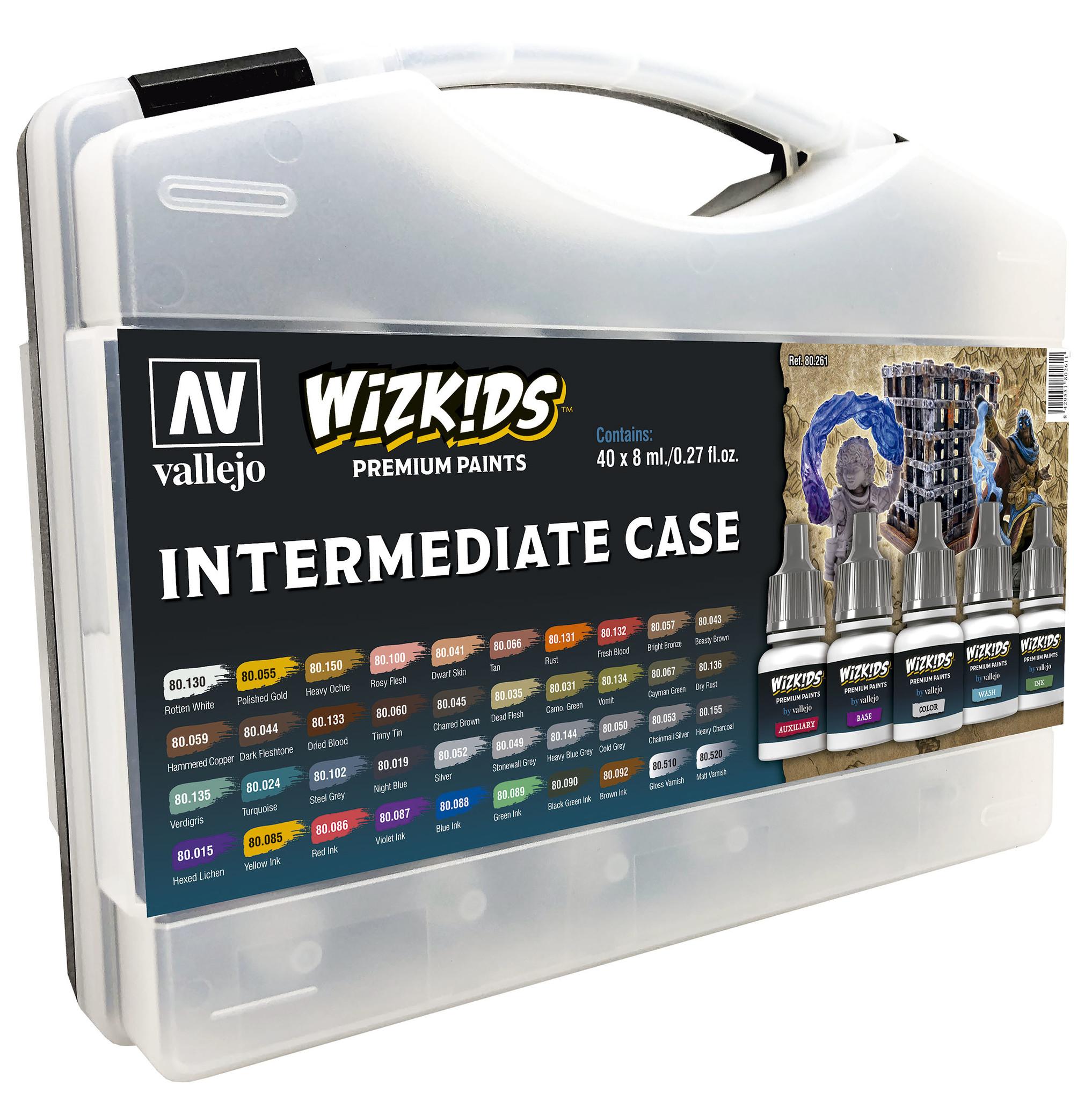 Vallejo Wizkids Intermediate Case - 40 x 8ml - Vallejo - VAL-80261