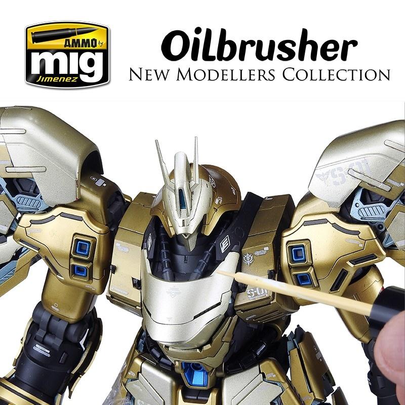Ammo by Mig Jimenez Oilbrusher - Gold - A.MIG-3539