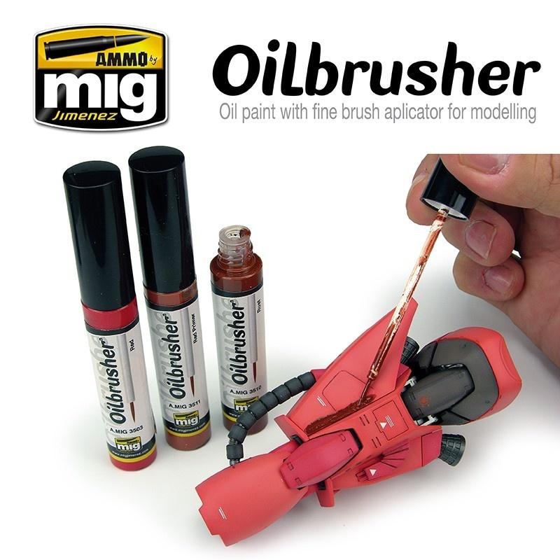 Ammo by Mig Jimenez Oilbrusher - Rust - A.MIG-3510