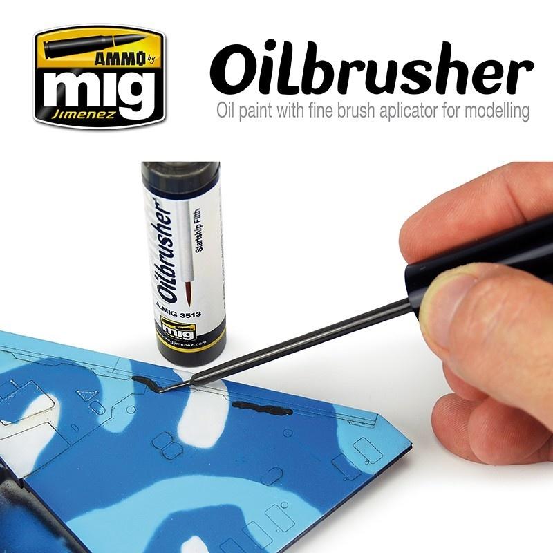 Ammo by Mig Jimenez Oilbrusher - Starship Filth - A.MIG-3513
