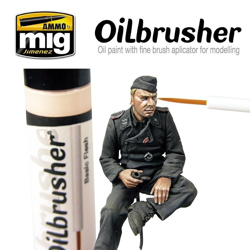 Ammo by Mig Jimenez Oilbrusher - Basic Flesh - A.MIG-3520