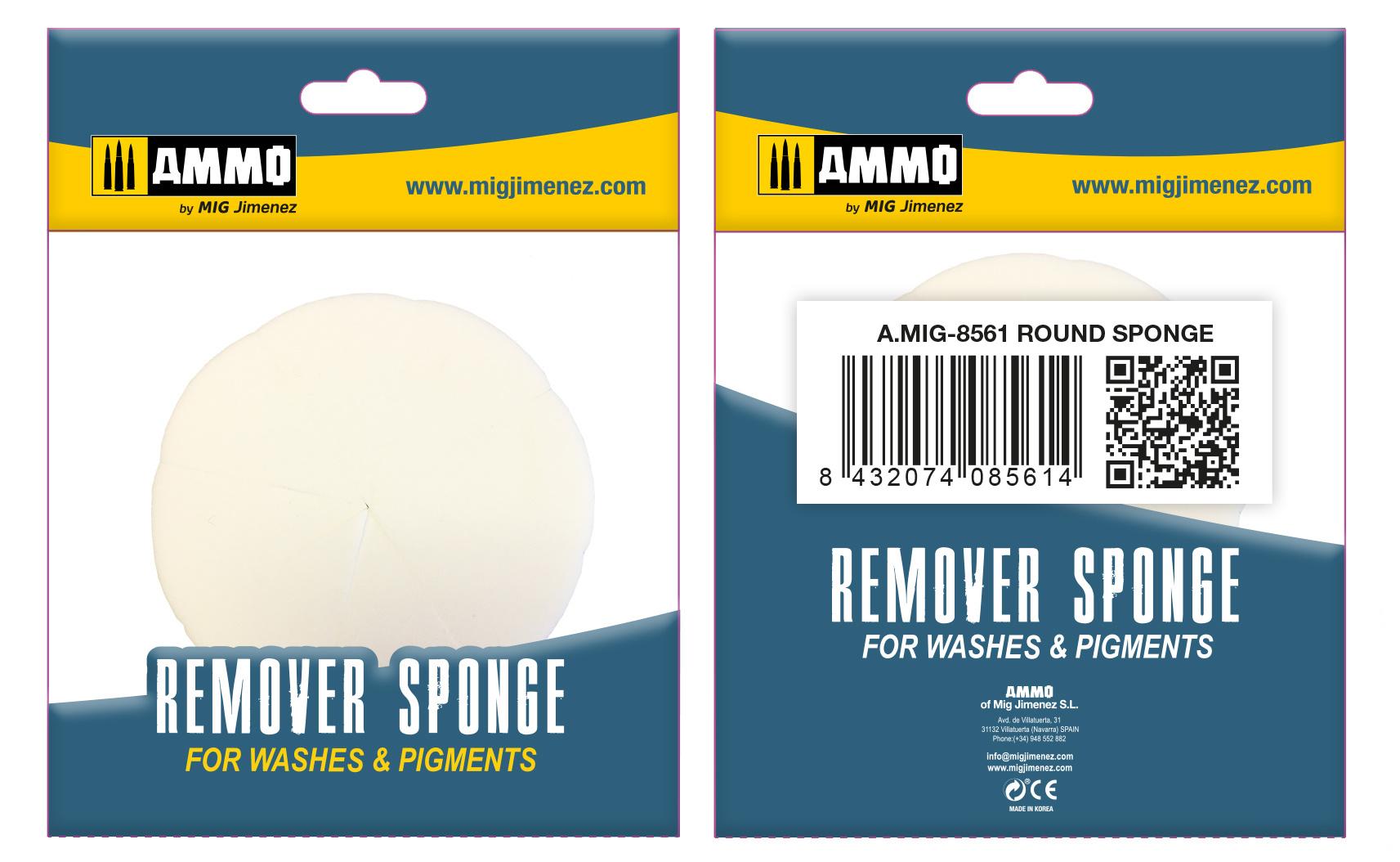 Ammo by Mig Jimenez Round Remover Sponge - Ammo by Mig Jimenez - A.MIG-8561