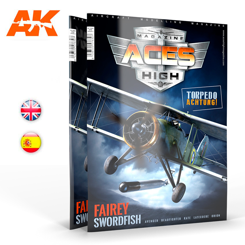 AK-Interactive Issue 17. Aces High Torpedo Achtung !! - English