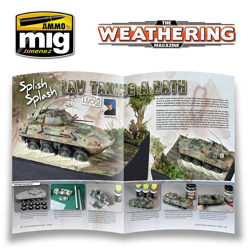 The Weathering Magazine The Weathering Magazine Issue 10. Water - English - Ammo by Mig Jimenez - A.MIG-4509