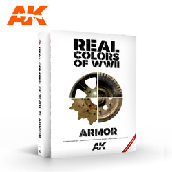 Real Colors Of WWII Armor New 2Nd Extended Update Version -English - AK-Interactive - AK-299