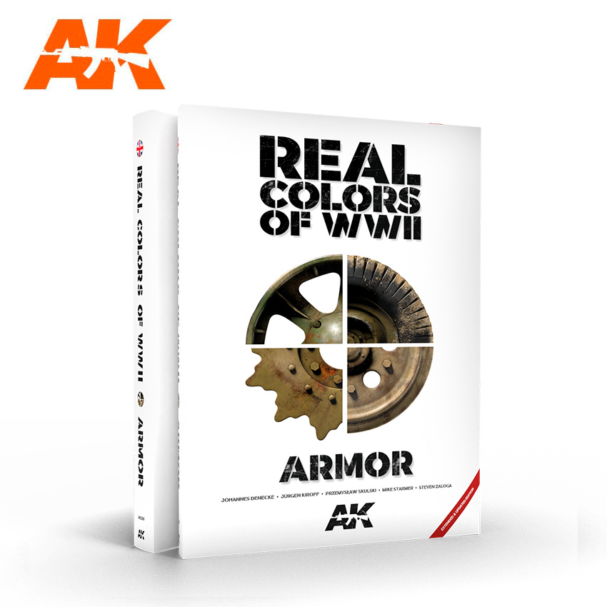 AK-Interactive Real Colors Of WWII Armor New 2Nd Extended Update Version -English - AK-Interactive - AK-299