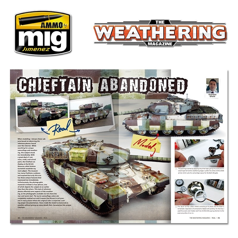 The Weathering Magazine The Weathering Magazine Issue 18. Real - English - Ammo by Mig Jimenez - A.MIG-4517