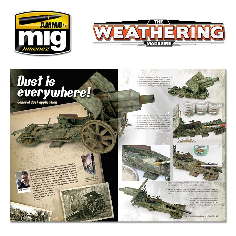 The Weathering Magazine The Weathering Magazine Issue 19. Pigments - English - Ammo by Mig Jimenez - A.MIG-4518