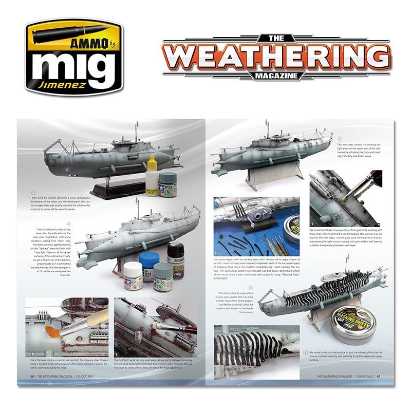 The Weathering Magazine The Weathering Magazine Issue 20. Camouflage - English - Ammo by Mig Jimenez - A.MIG-4519