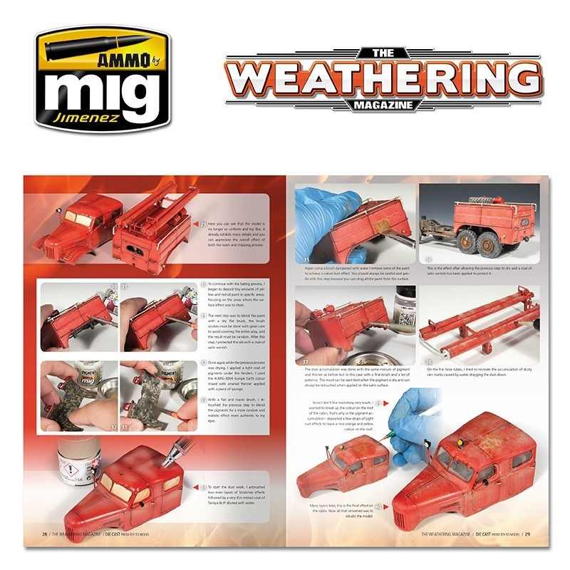 The Weathering Magazine The Weathering Magazine Issue 23. Die Cast: From Toy To Model - English - Ammo by Mig Jimenez - A.MIG-4522