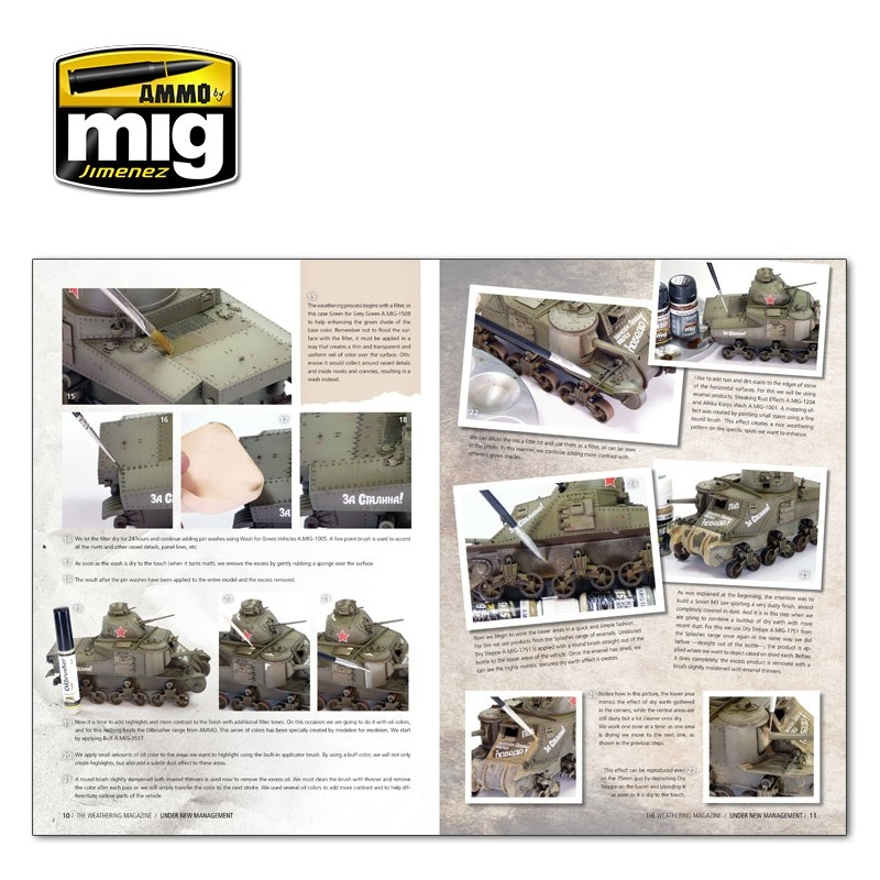 The Weathering Magazine The Weathering Magazine Issue 24. Under New Management - English - Ammo by Mig Jimenez - A.MIG-4523