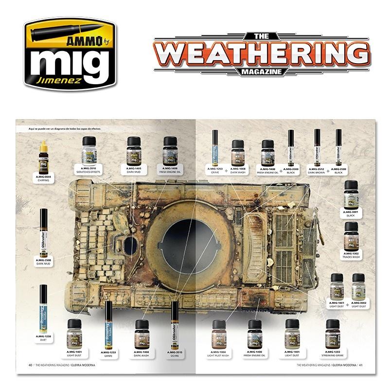 The Weathering Magazine The Weathering Magazine Issue 26. Modern Warfare - English - Ammpo by MIg Jimenez - A.MIG-4525