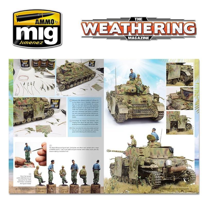 The Weathering Magazine The Weathering Magazine Issue 28. Four Seasons - English - Ammo by Mig Jimenez - A. MIG-4527