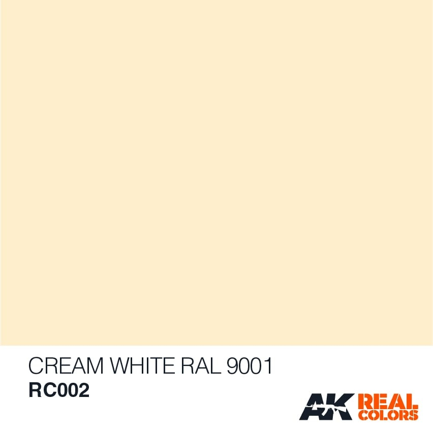 AK-Interactive Cream White RAL 9001 - 10ml - RC002