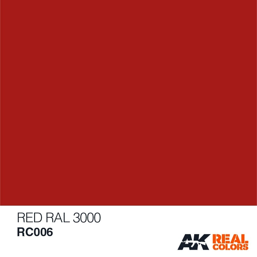 AK-Interactive Red RAL 3000 - 10ml - RC006