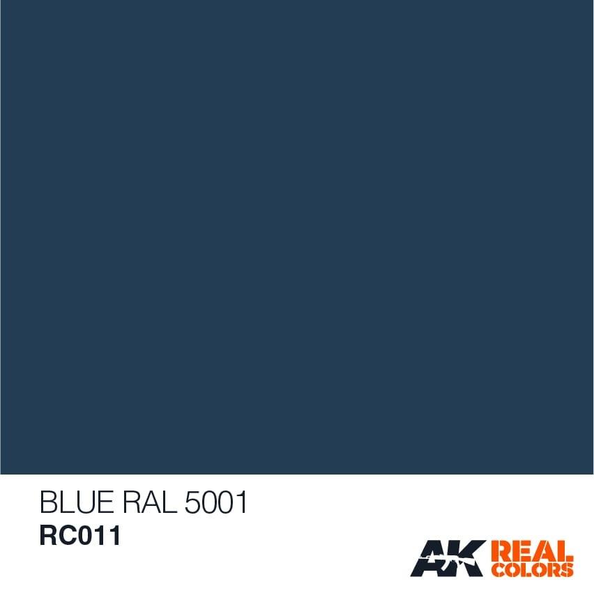 AK-Interactive Blue RAL 5001 - 10ml - RC011