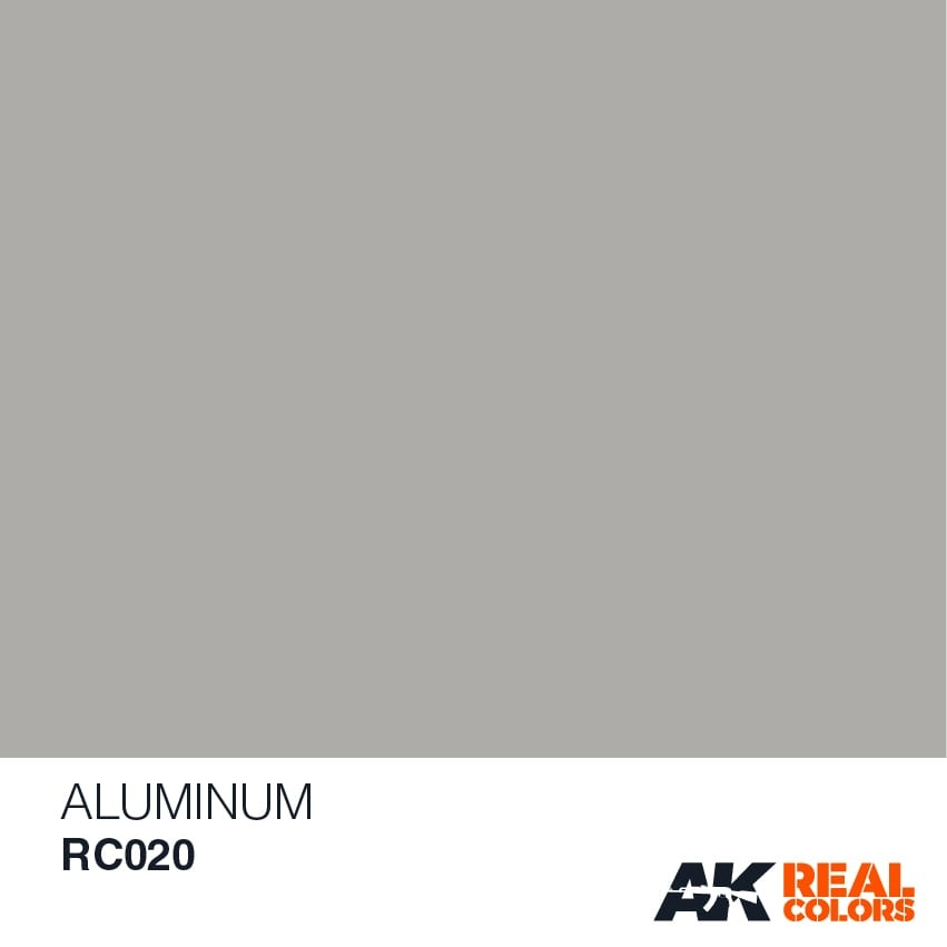 AK-Interactive Aluminium - 10ml - RC020