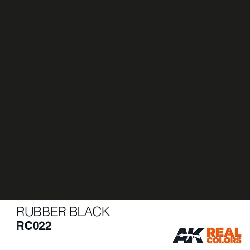 AK-Interactive Rubber Black - 10ml - RC022