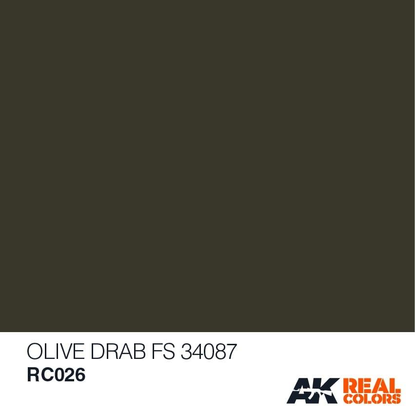 AK-Interactive Olive Drab FS 34087  - 10ml - RC026