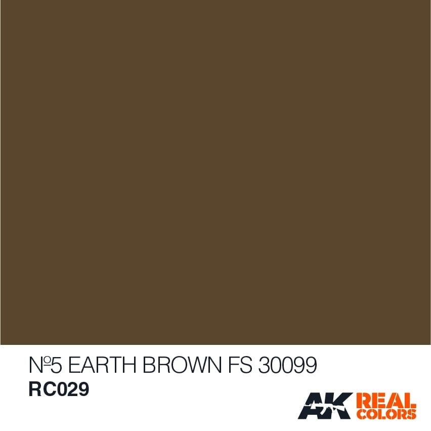 AK-Interactive No5 Earth Brown FS 30099 - 10ml - RC029