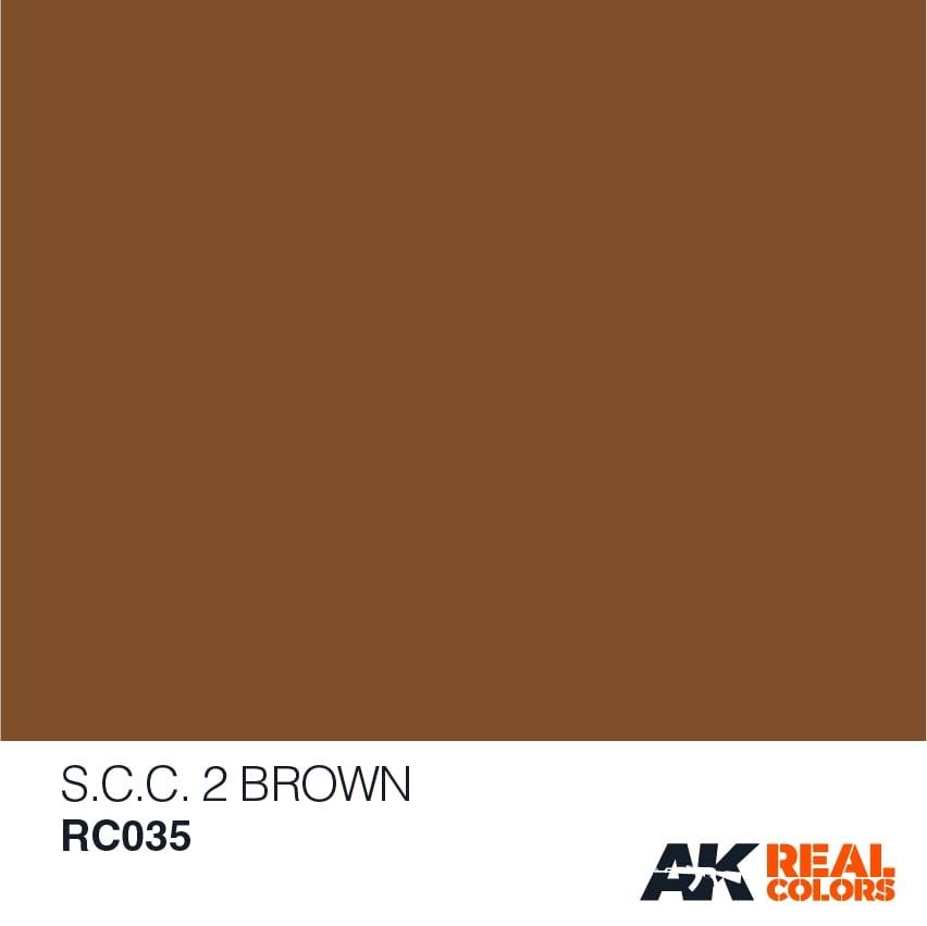 AK-Interactive S.C.C. 2 Brown - 10ml - RC035