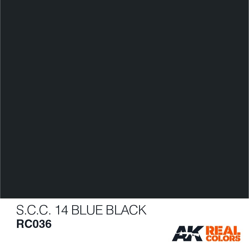 AK-Interactive S.C.C. 14 Blue Black - 10ml - RC036