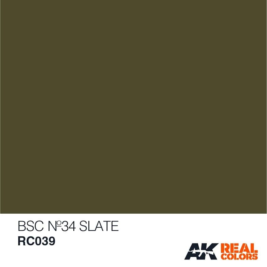 AK-Interactive BSC No34 Slate - 10ml - RC039