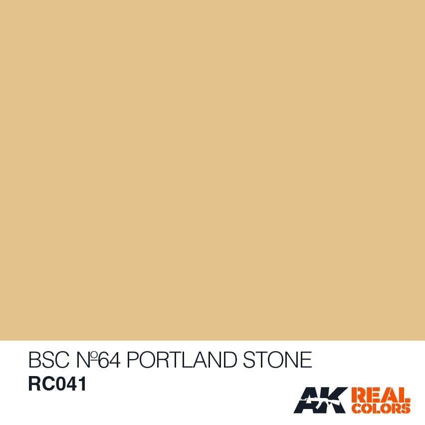 AK-Interactive BSC No64 Portland Stone - 10ml - RC041
