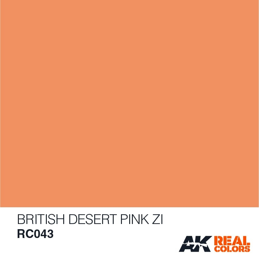 AK-Interactive British Desert Pink Zi - 10ml - RC043