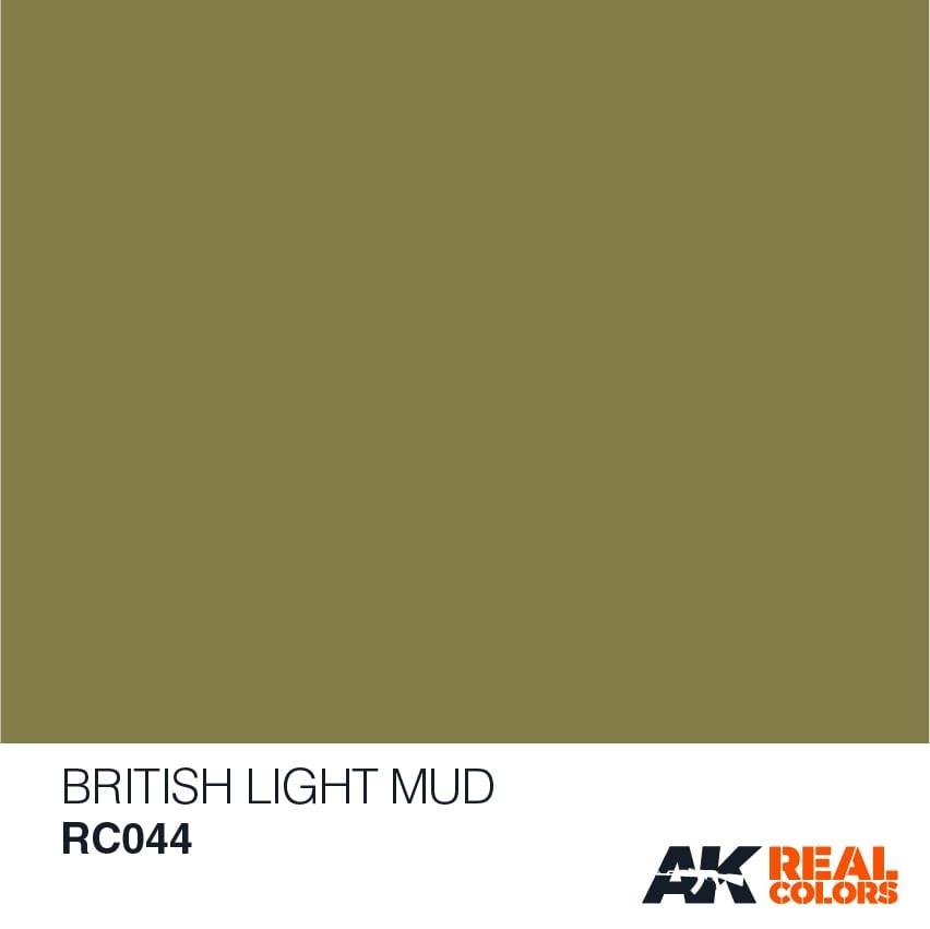 AK-Interactive British Light Mud - 10ml - RC044