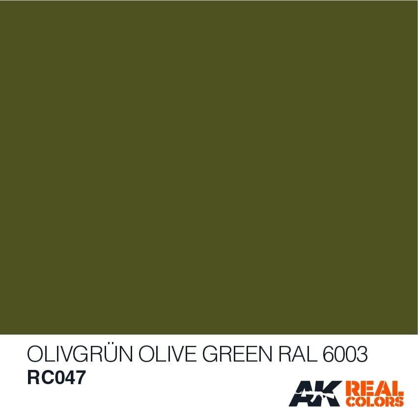 AK-Interactive Olivgrün-Olive Green RAL 6003 - 10ml - RC047