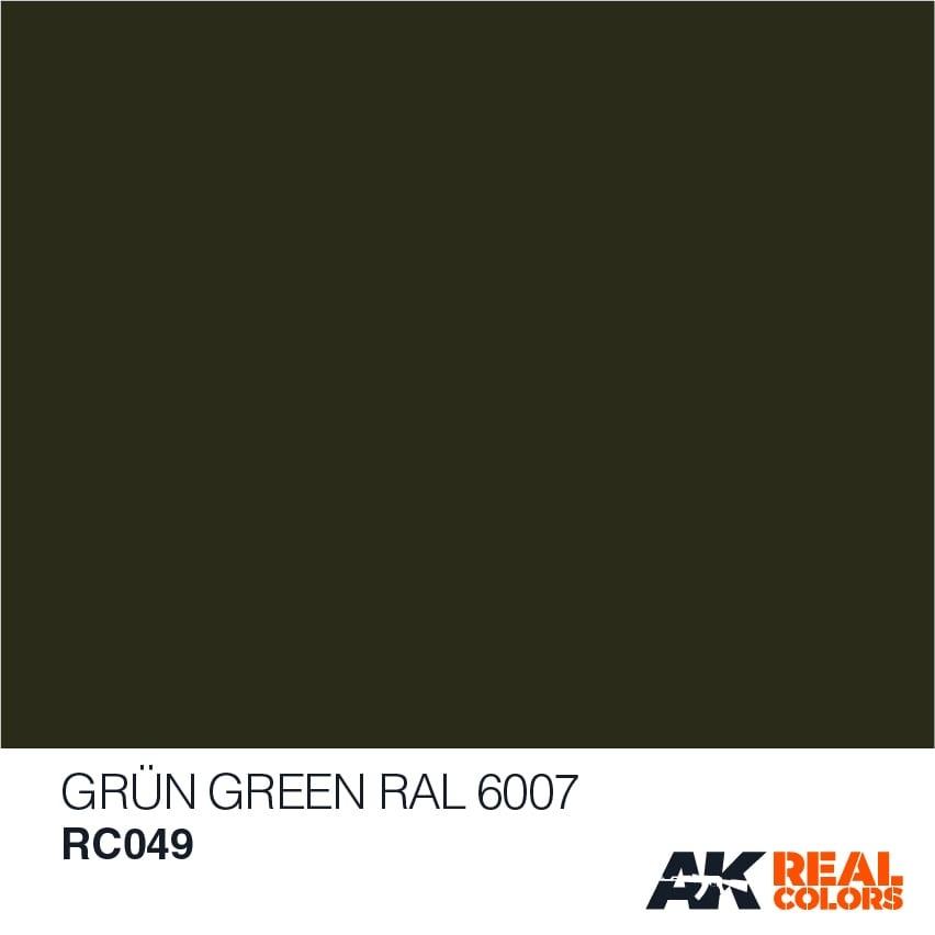 AK-Interactive Grün-Green RAL 6007 - 10ml - RC049