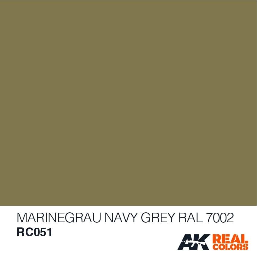 AK-Interactive Marinegrau-Navy Grey RAL 7002 - 10ml - RC051