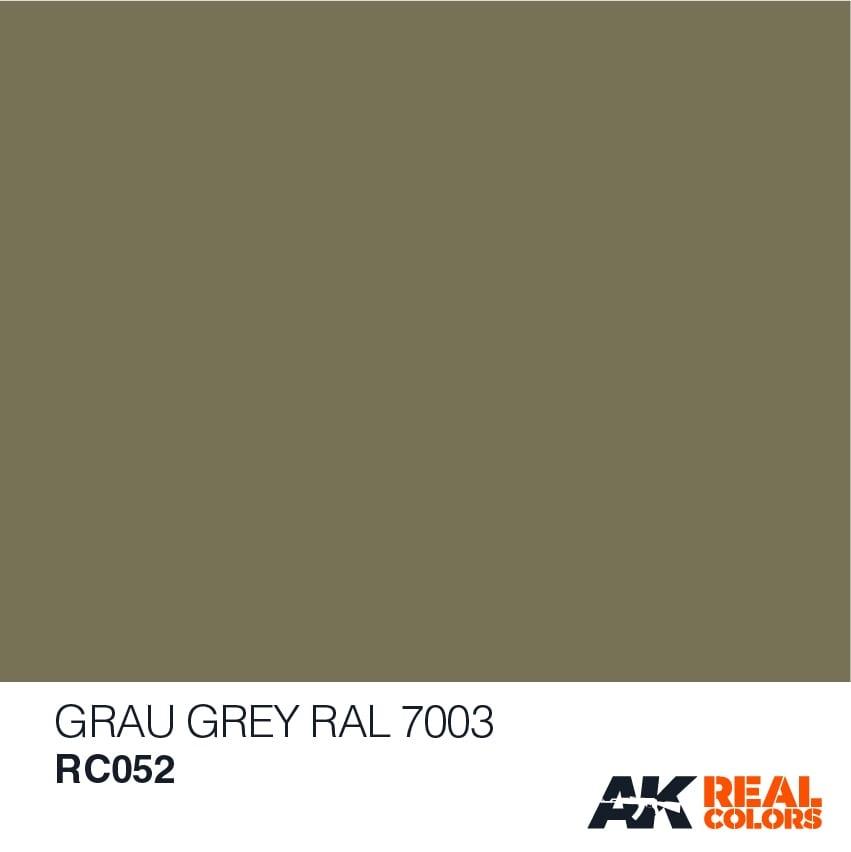 AK-Interactive Grau-Grey RAL 7003 (RLM 02) - 10ml - RC052