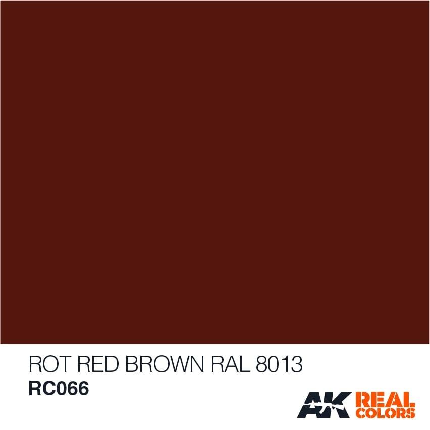 AK-Interactive Dunkelbraun-Dark Brown RAL 7017 - 10ml - RC056