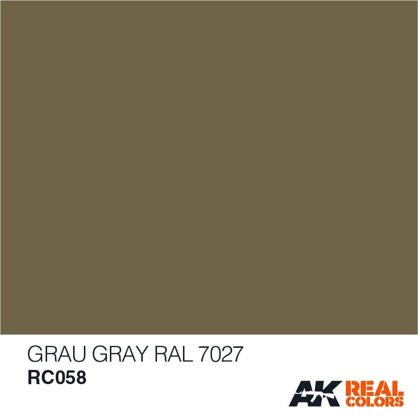 AK-Interactive Grau-Gray RAL 7027 - 10ml - RC058