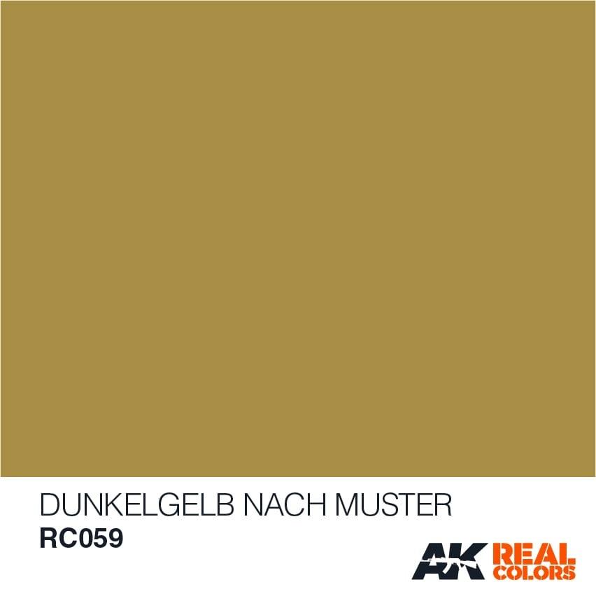 AK-Interactive Dunkelgelb Nach Muster- Dark Yellow - 10ml - RC059