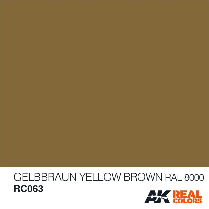 AK-Interactive Gelbbraun-Yellow Brown RAL 8000 - 10ml - RC063