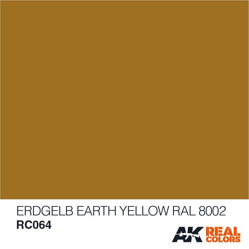 AK-Interactive Erdgelb-Earth Yellow RAL 8002 - 10ml - RC064