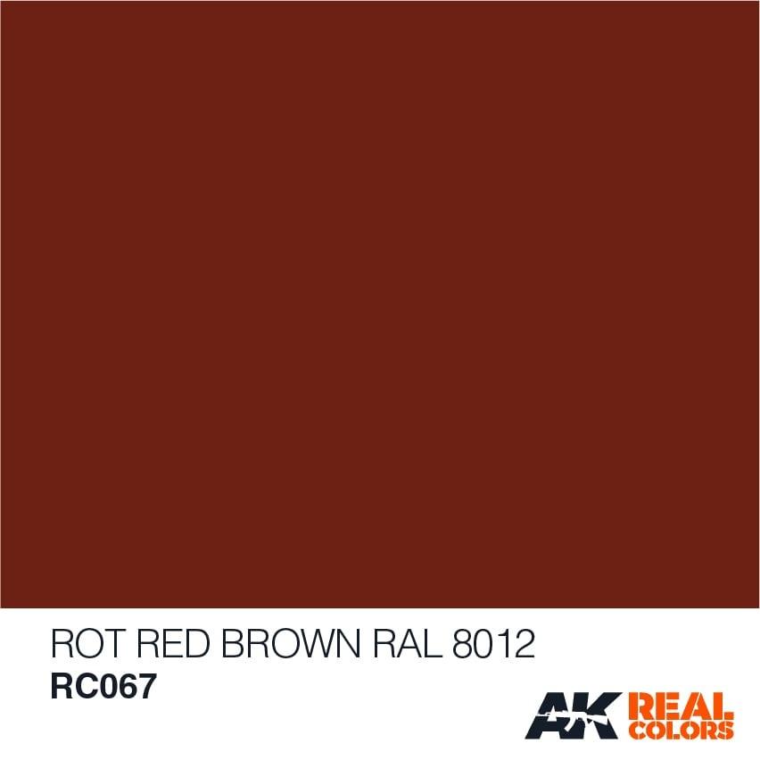 AK-Interactive Rot (Rotbraun) Red Brown RAL 8012 - 10ml - RC067