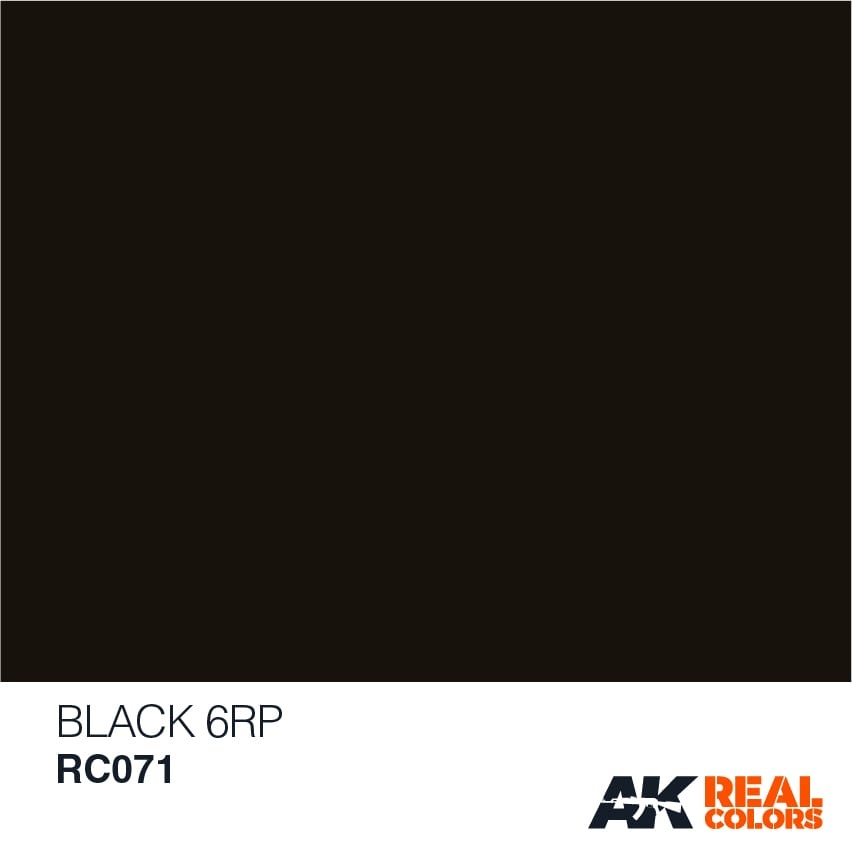 AK-Interactive Black 6RP - 10ml - RC071