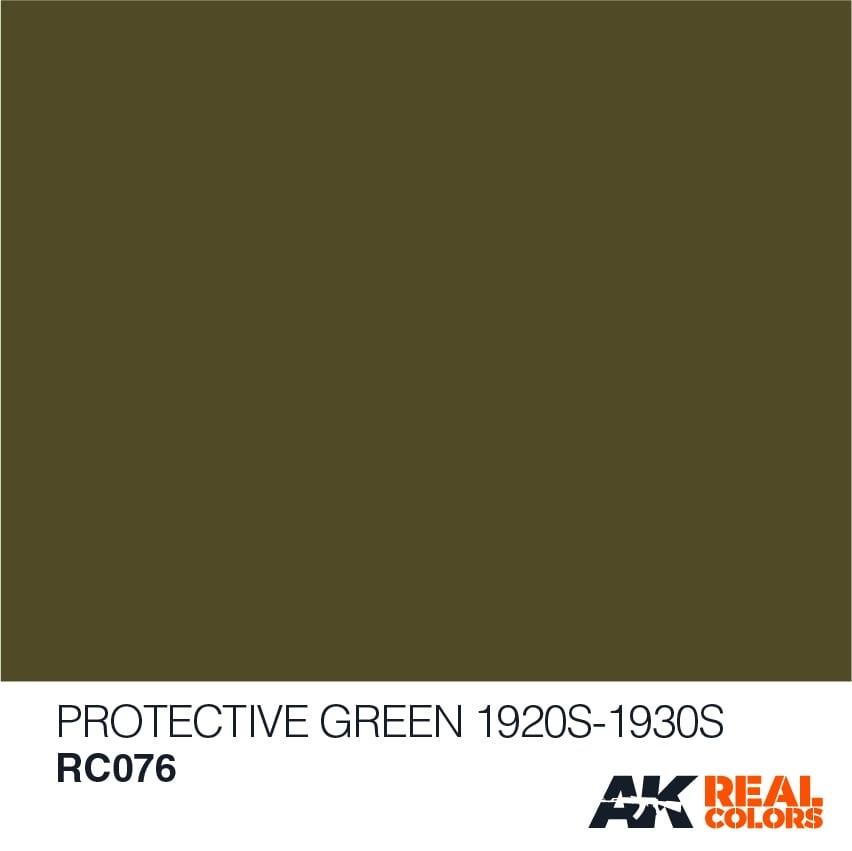 AK-Interactive Protective Green 1920S-1930S - 10ml - RC076