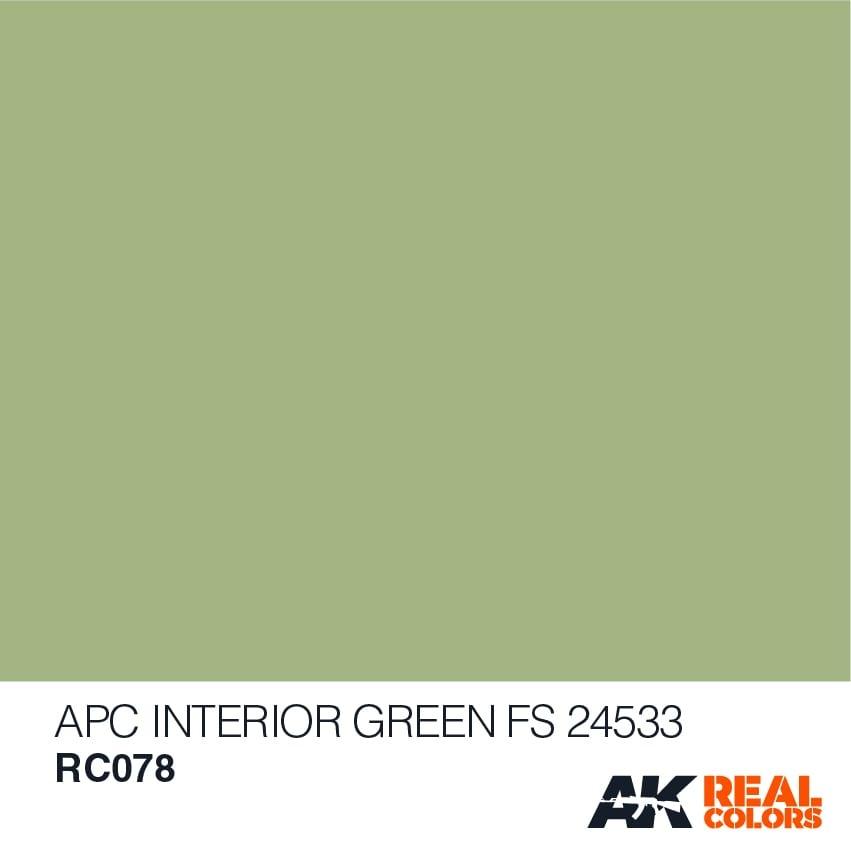AK-Interactive APC Interior Green FS24533 - 10ml - RC078