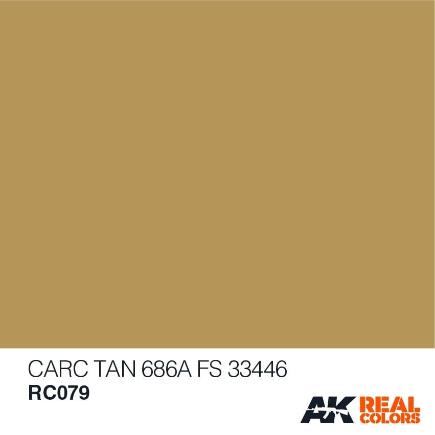 AK-Interactive Carc Tan 686A FS33446 - 10ml - RC079