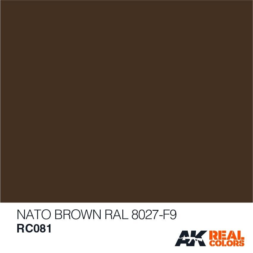 AK-Interactive Nato Brown RAL 8027 F9 - RC081