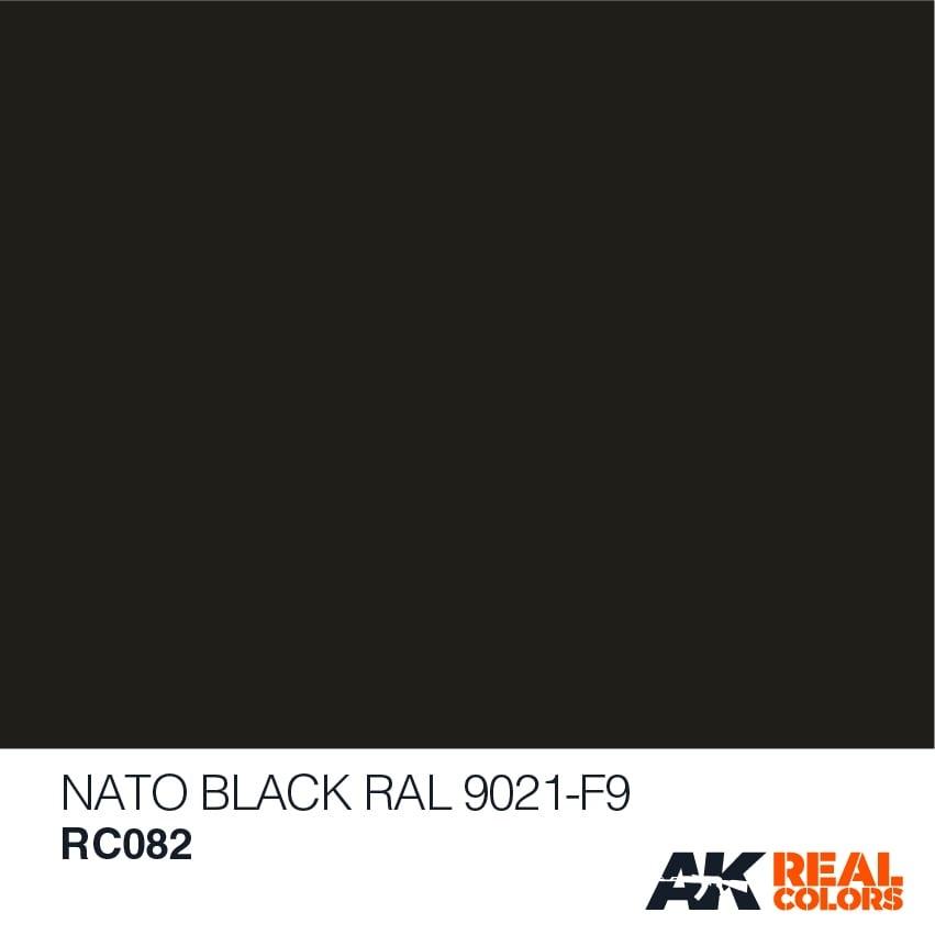 AK-Interactive Nato Black RAL 9021 F-9 - 10ml - RC082